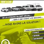 Partenariat Alloic Acs Taxis et Onlydrive.fr pour la location de véhicules de la citadine au 20m3 Hayon