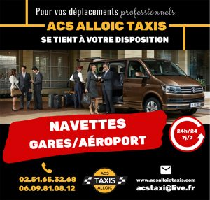 Navette Gares / Aéroport 7j7 24h/24